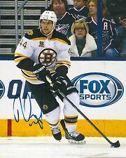 DENNIS SEIDENBERG signed BOSTON BRUINS 8X10 photo w/ COA A