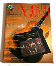 CSN&Y ACOUSTIC GUITAR MAGAZINE Vol.3 JAPAN BOOK 2000 Neil Young Stephen Stills