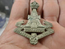 British Army Hat Badge Yorkshire Regiment Alexandria Princess of Walessown