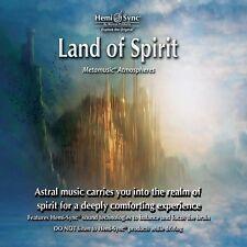 Land of Spirit Hemi-Sync Monroe Atmospheric Music New Release CD 64 m Meditation