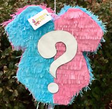 Pink & Blue Gender Reveal Pinata Baby Theme