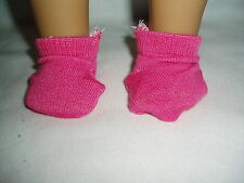 """1 pair Hot Pink Ankle Socks Doll Clothes Fits 18"""" American Girl & 15"""" Bitty Baby"""