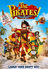THE PIRATES! BAND OF MISFITS DVD Animated Movie