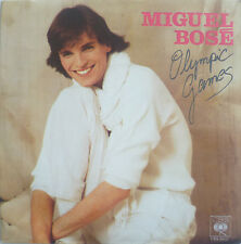"""7"""" 1980 RARE! Miguel Bose: Olympic games // VG + \ \"""