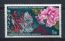 MONACO 1974, timbre 983, POISSON, CORAUX, neuf**
