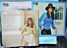 3 Carly Simon Quad Disc No Secrets/Hot Cakes/Self Titled 4 Channel Quadraphonic