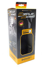 Continental Cyclo X-King Fold Race Sport Bike Tire, Black, 700cm x 32