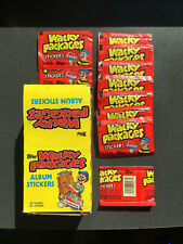 10 - 1986 Topps Wacky Packages Sticker Packs - with Display Box! Unopened/Sealed