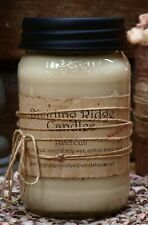 100% Soy Wax jar candle hand poured scented Patchouli ~ Dividing Ridge Candles