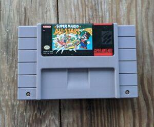 Super Mario All-Stars (Super Nintendo Entertainment System 1993) SNES Authentic