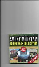 """SMOKY MOUNTAIN BLUEGRASS COLLECTION, CD """"3 CD SET, 72 TRACKS, NEW SEALED"""