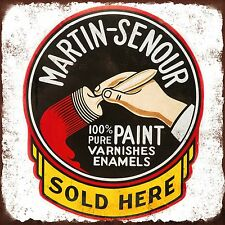 Martin Senour Paint High Quality Metal Magnet 4 x 4 inches 9365