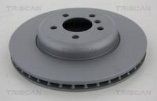 2x Bremsscheibe TRISCAN 8120111014C vorne für BMW