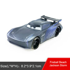 Disney Pixar Cars 3 Fireball Beach Jackson Storm Diecast Toy Model Car 1:55 Gift