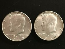 1968D and 1969D Kennedy Half Dollars - Uncirculated