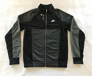 Nike Men's Sportswear Track Jacket Full Zip Black Men's CU4307-010 New Sz 3XL