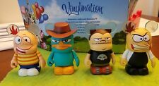 "Disney Vinylmation 3"" Park Set 1 Phineas and Ferb Lot Agent P Perry Dr Buford"
