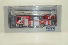 RARE! Iveco Magirus DLK 23-12 CS New Eurocargo Cab 2008 Fire Truck Eligor 1/43