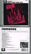 RAMONES - CBGB'S NEW YORK 1977 (GTMCD005) CD