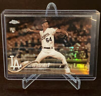 2018 Topps Chrome Walker Buehler Rookie Sepia Refractor SP RC Mint LA Dodgers