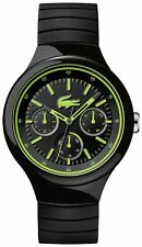 Lacoste Men's Borneo Silicone Strap Watch.