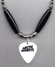 Arctic Monkeys White Guitar Pick Necklace #2