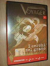 DVD N° 3 I CERCHI NEL GRANO UFO ALIENI VOYAGER AI CONFINI DELLA CONOSCENZA