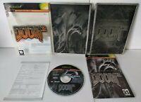 DOOM 3 Limited Collector's Edition Steelbook - Jeu XBOX Fr Complet Très bon état