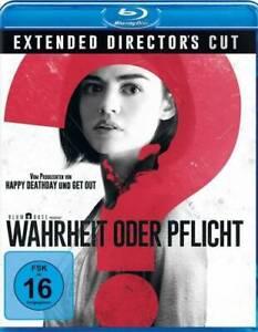 Wahrheit oder Pflicht - Extended Directors Cut - Blu-ray