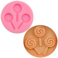 Halloween Lollipop Silicone Mold Chocolate Fondant Moulds Baking DIRCFA