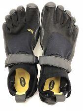 Womens VIBRAM FIVE FINGERS Black Barefoot Minimalist Running Shoes 39 US 8-8.5