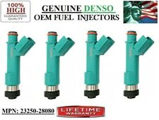 Scion tC (Year 2010) 2.4L I4 - Reman Set/4 Fuel Injectors OEM DENSO #23250-28080