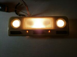 1998-2003 BMW E39 5-SERIES Dome & Map Light (Tan-Sand) OEM