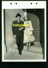BASIL RATHBONE ELLEN DREW VINTAGE 8X11 KEYBOOK PHOTO 1940 A DATE WITH DESTINY