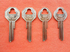 4 GM LOGO CADILLAC OLDSMOBILE GMC ORIGINAL OEM KEY BLANKS 1935 -1966