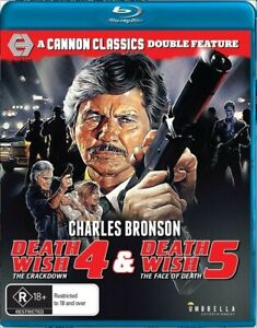 Death Wish 4 / Death Wish 5 Charles Bronson Blu-Ray Double Feature New & Sealed!