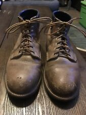 Red Wing Boots Size 10.5 E