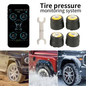 Car Tire Pressure Monitoring System Bluetooth Wireless TPMS Tyre Monitor Sensor