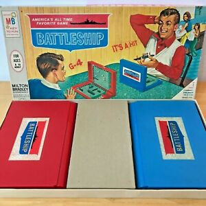 Vintage 1967 Battleship Game 4730 Milton Bradley Complete USA made GM
