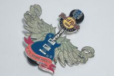 """Hard Rock Cafe Pins - Vintage HRC Singapore """"Staff"""" WINGED Guitar Limited Ed 100"""