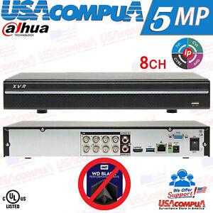 Dahua 8 CH DVR OEM XVR501AN-08-X XVR Hybrid 5in1 P2P 5MP Video Recorder NO-DHH