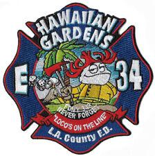 LA County Station 34 Hawaiian Gardens Fire Department Patch