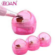 Nail Polisher Head Cleaning Brush Tool Hard Soft Hair Dual-use Polishing Ball