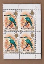 1981 Aitutaki Birds, $5.- SG 352 MUH, Block 4