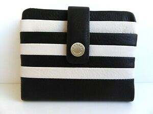 RADLEY Coleman Street Stripe Leather Card Holder - BNWT RRP £39 With Dust Bag
