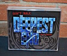 Gov'T Mule Deepest End + Dvd Deepest End + Dvd 3 CD album NEW sealed