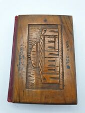 More details for antique  jewish torah / prayer book with wooden covers