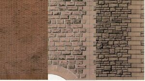 Superquick Series D Model Building Papers HO/OO Gauge 1/76 Scale