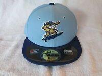 NEW ERA DAYTONA CUBS BP BASEBALL HAT CUBS CLASS A 59FIFTY BRAND SIZE 6 7/8