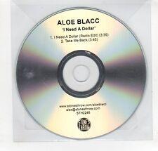 (GN857) Aloe Blacc, I Need A Dollar - DJ CD